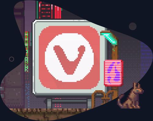 Vivaldi Neonschild