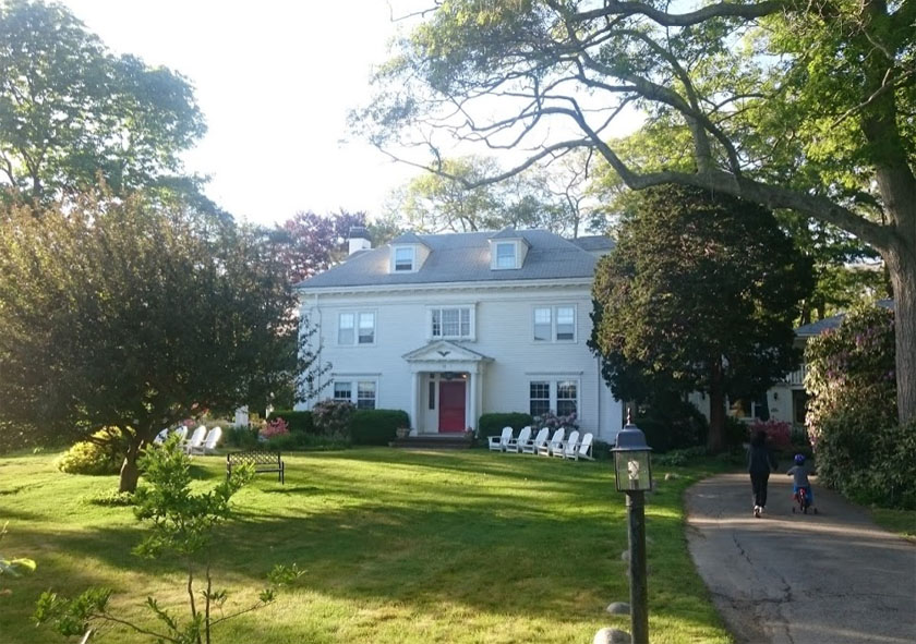 La casa blanca Vivaldi en Magnolia, EE. UU.