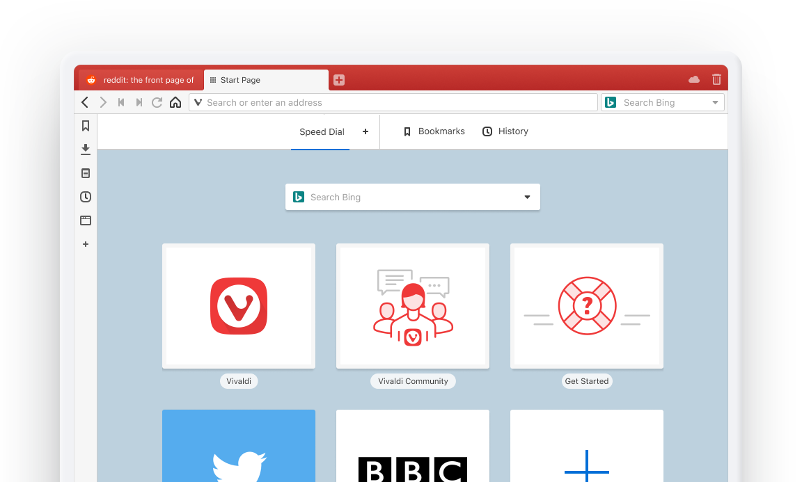 Vivaldi — The browser that puts you in control