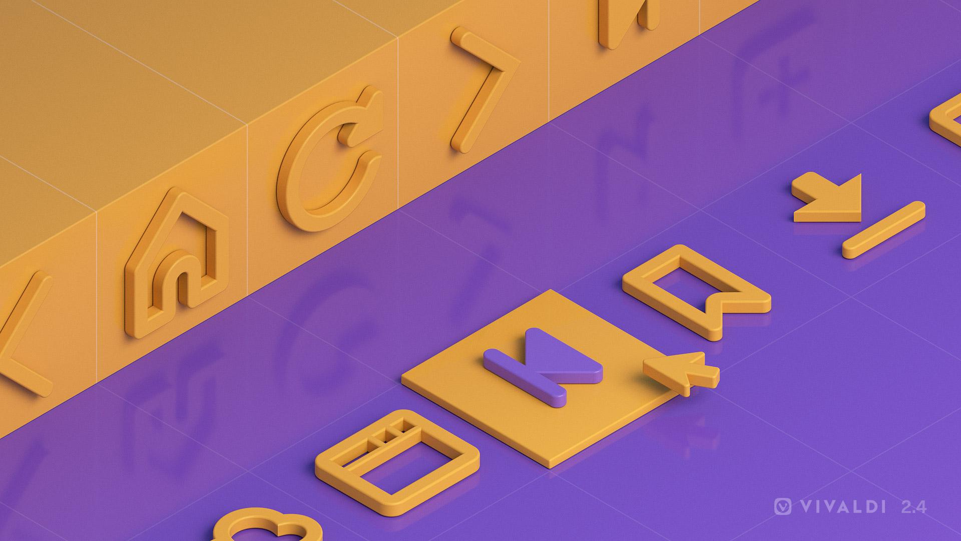 Vivaldi 2.4 Icon Customization