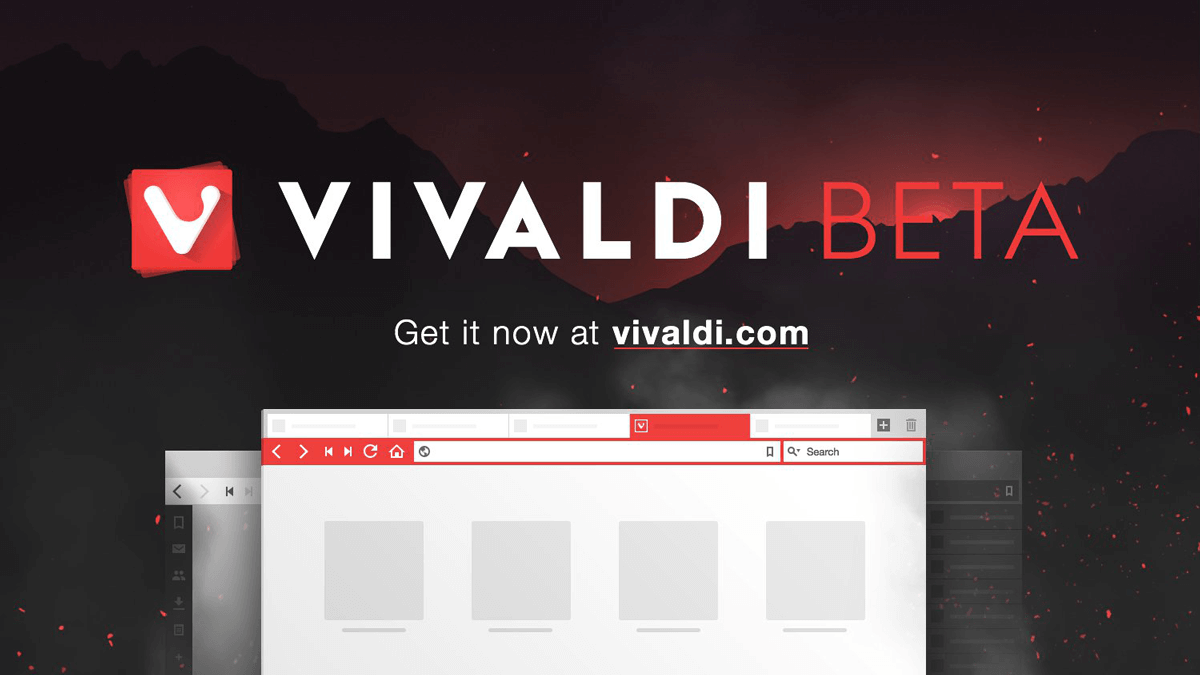 Vivaldi launches its first beta