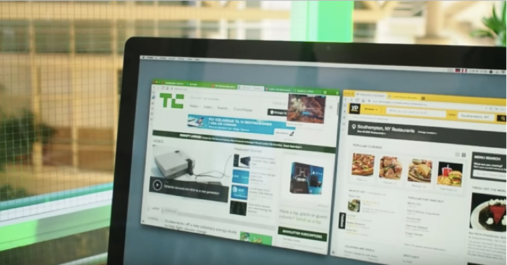 TechCrunch as seen in Vivaldi browser
