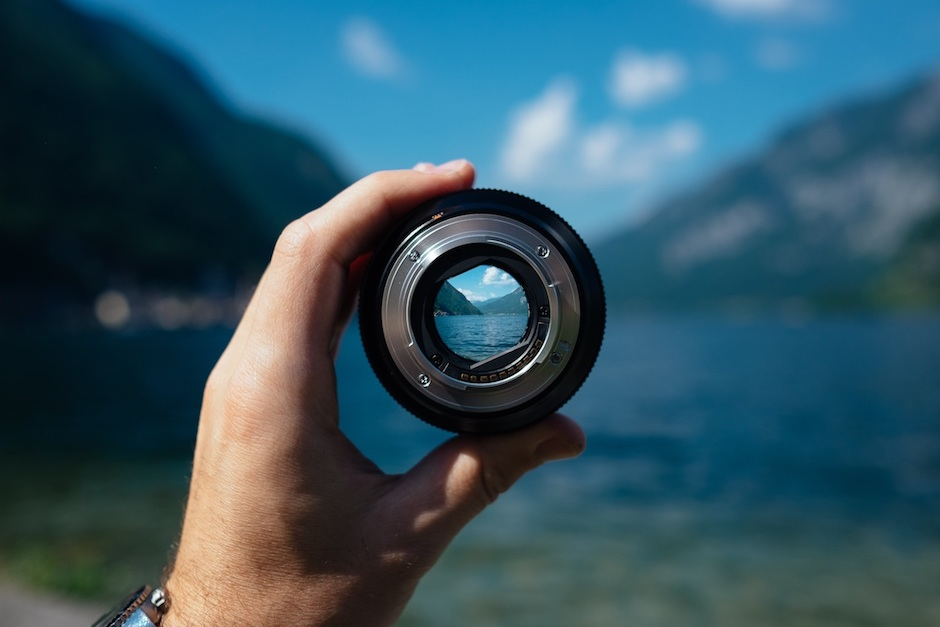 Landscape through lens (Source: unsplash.com)