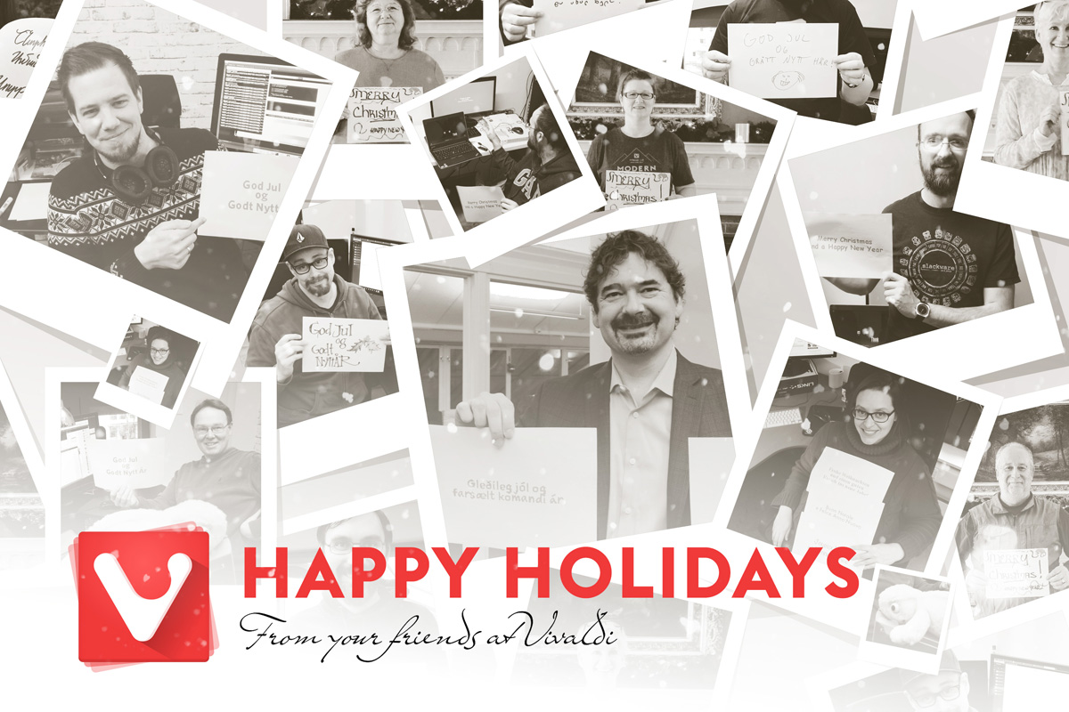 Happy Holidays by Vivaldi Browser Team (2016)