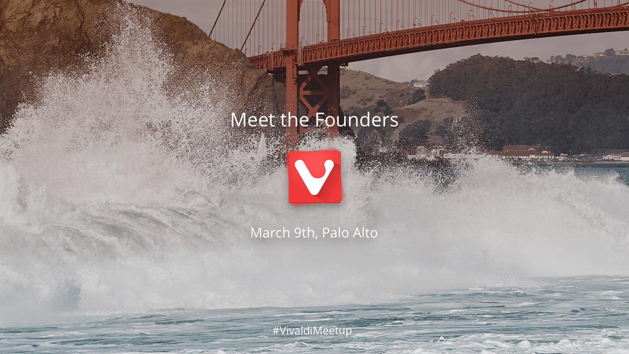VivaldiMeetup in San Francisco