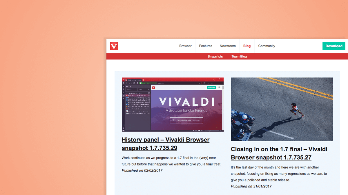 Vivaldi Blog gets a new look