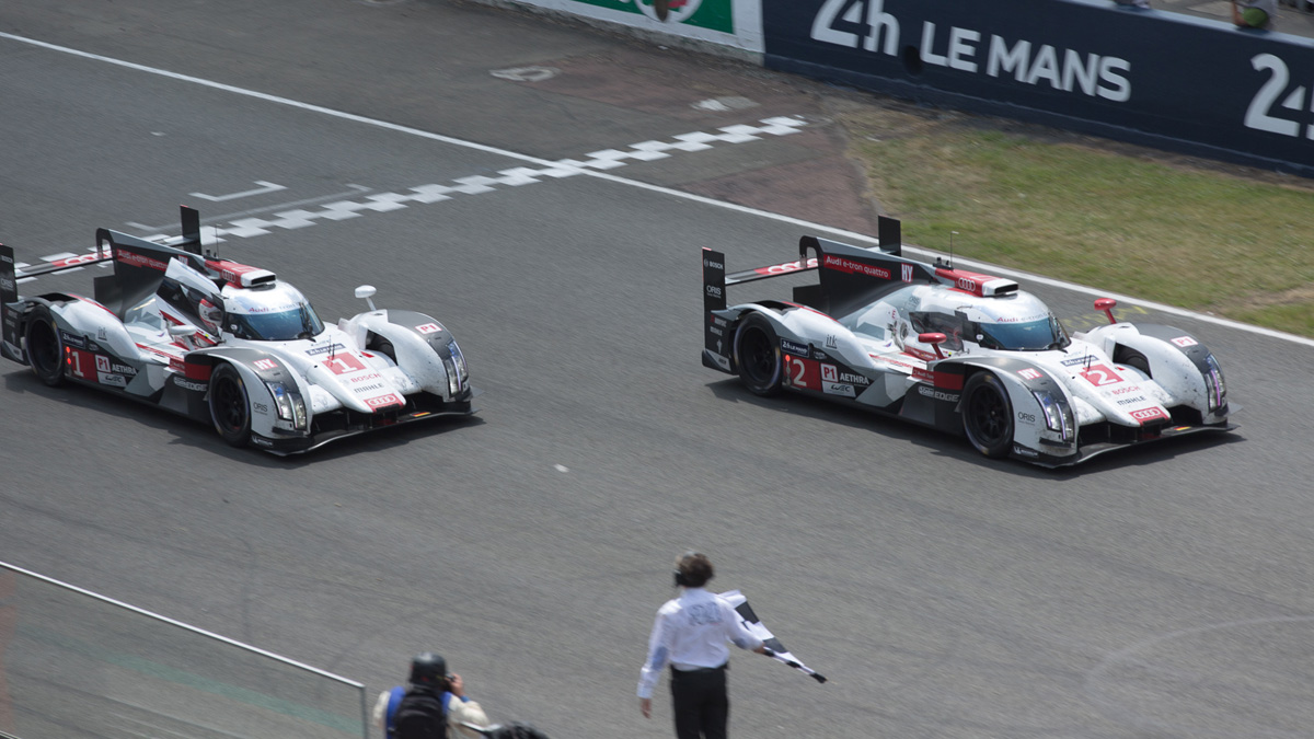The Vivaldi Browser close to the finish line just like Audi in 2014 at Le Mans