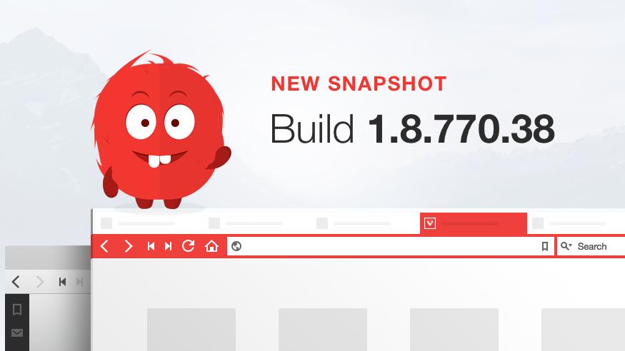 Further refinements – Vivaldi Browser snapshot 1.8.770.38