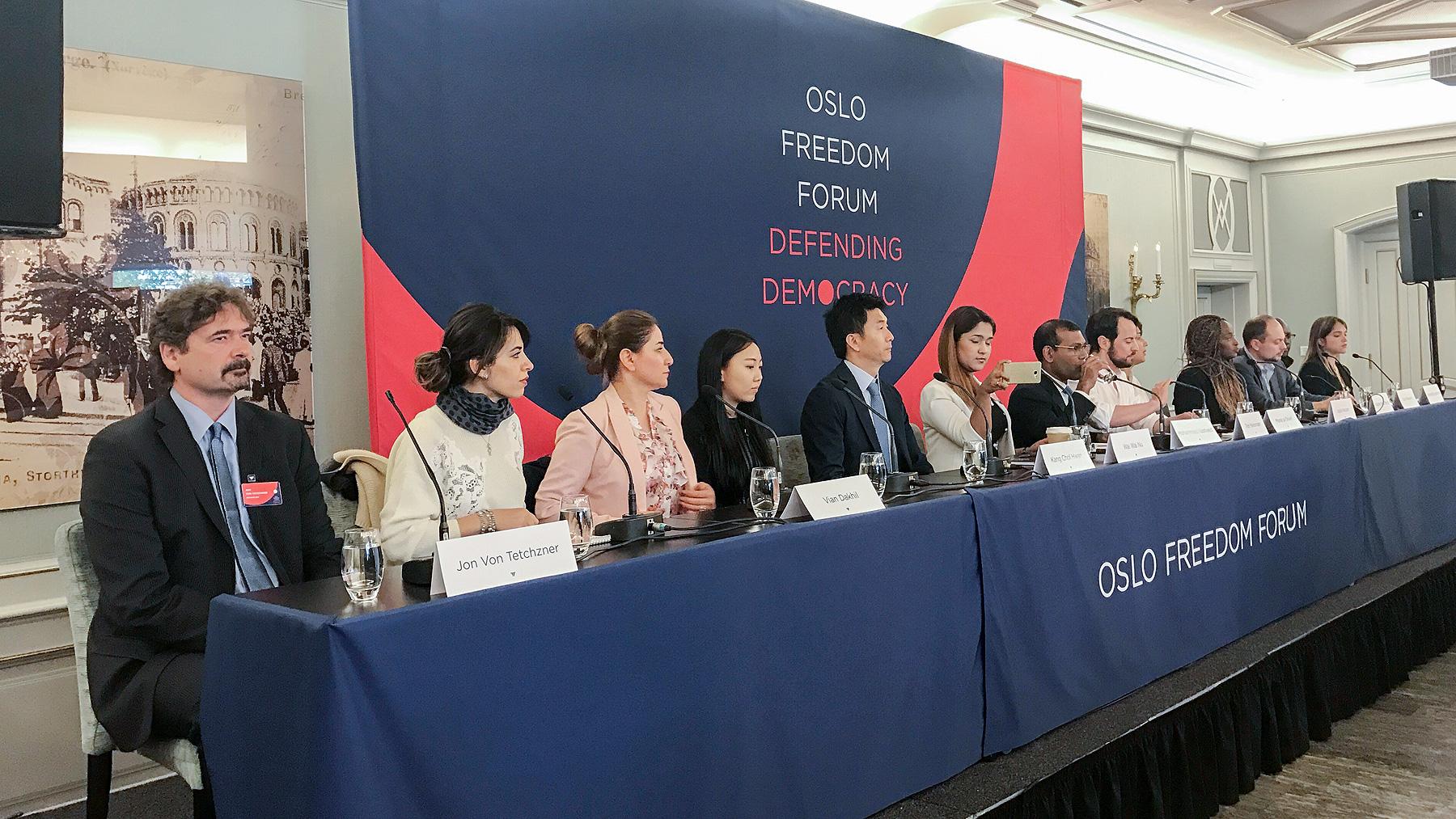 Jon von Tetzchner at Oslo Freedom Forum
