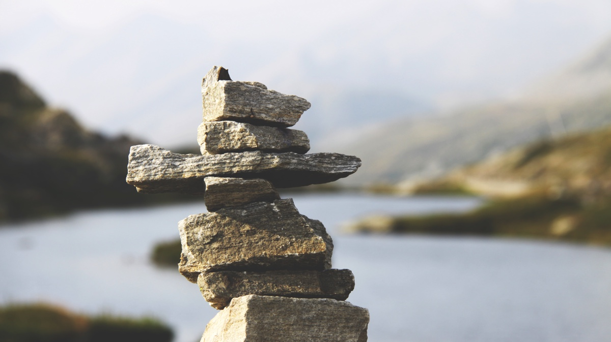 Pillar of rocks