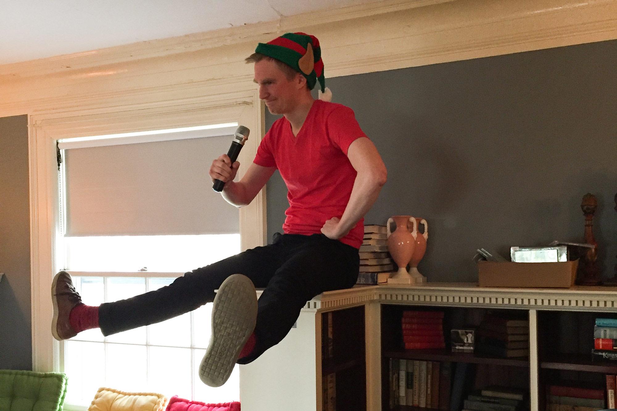 Vivaldi developer elf karaoke, Innovation House, Magnolia