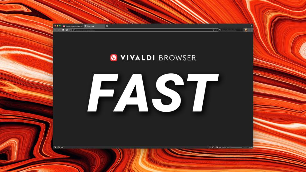 Vivaldi 3.7 is faster