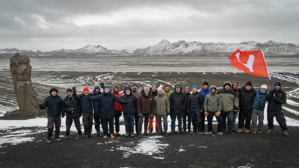 Vivaldi Team in Iceland