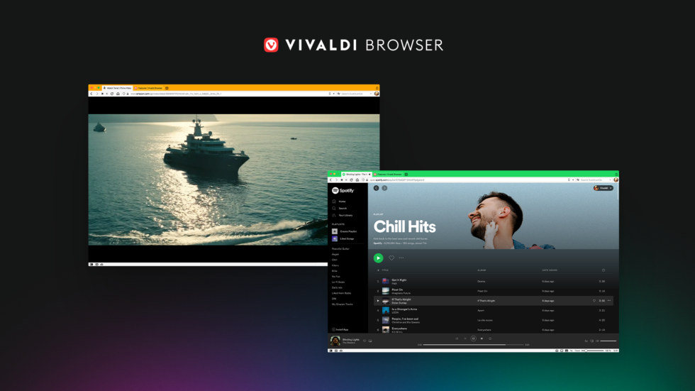 Vivaldi 3.5 with better media and playback