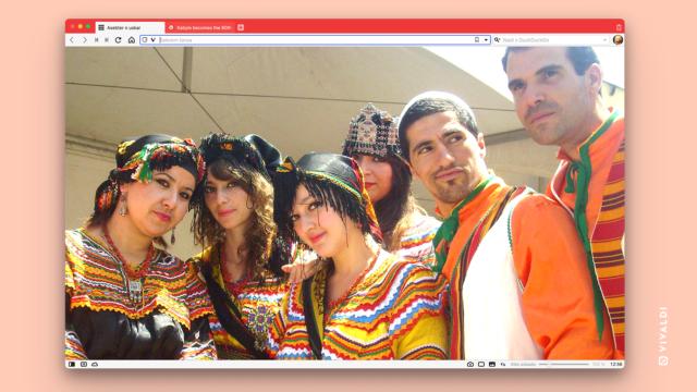 Kabyle_language_Vivaldi_browser
