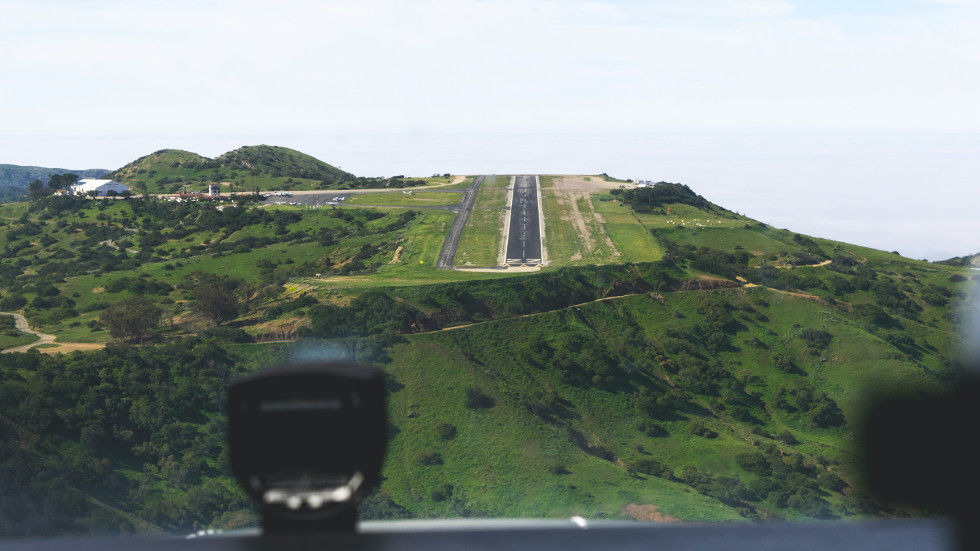 Catalina airport landing strip