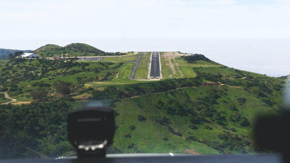 Catalina airport landing strip