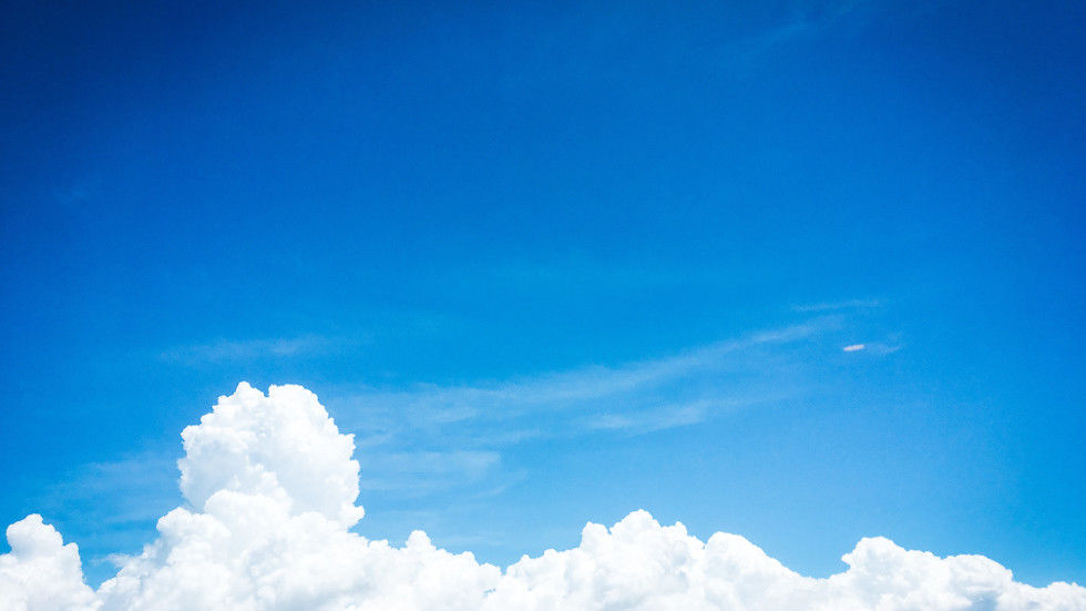 Clouds in a blue sky