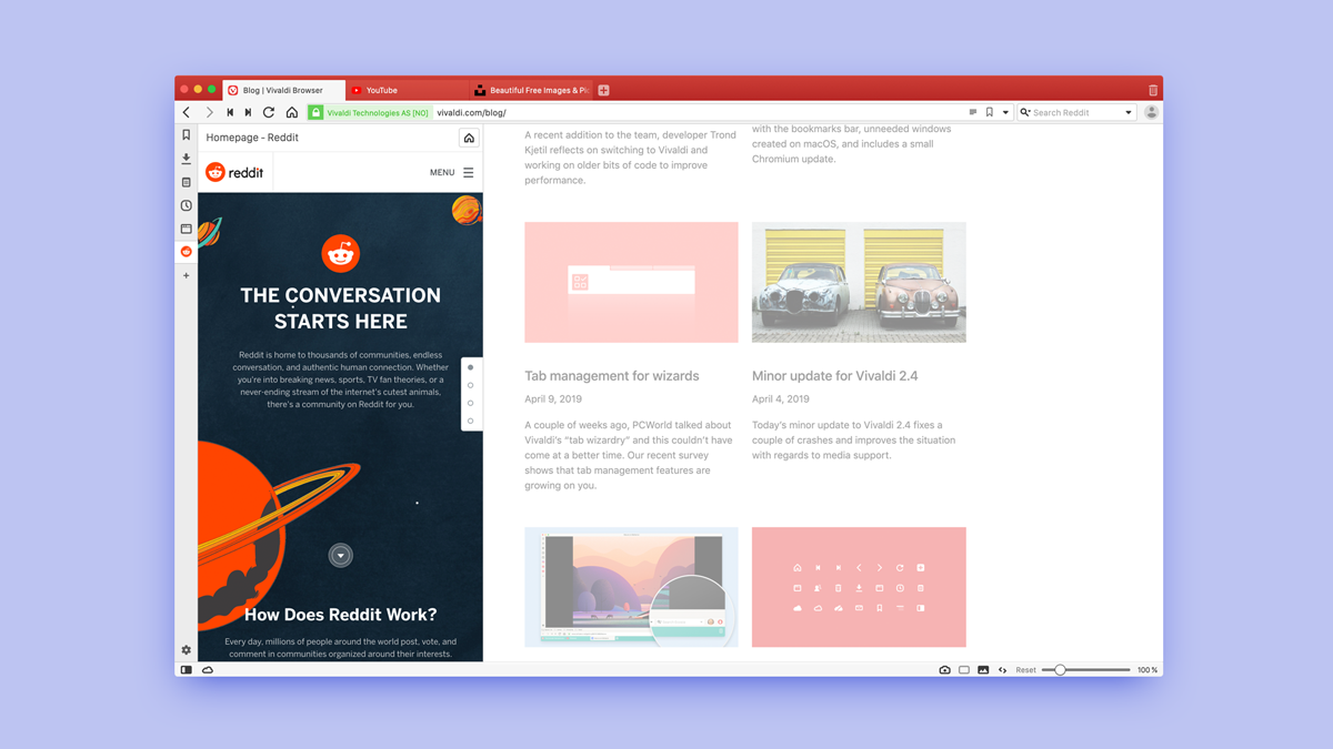Best buddies: Browse Reddit with Vivaldi | Vivaldi Browser