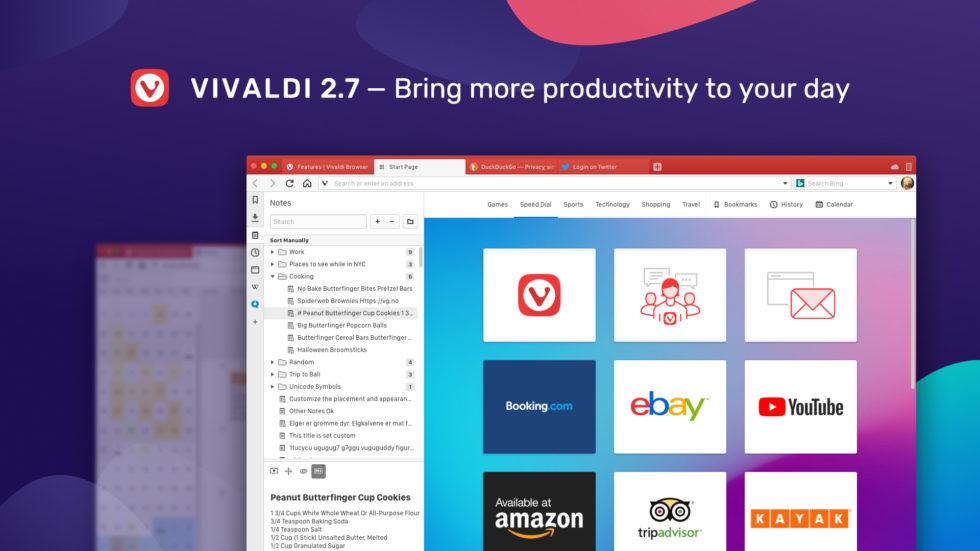 Vivaldi 2.7